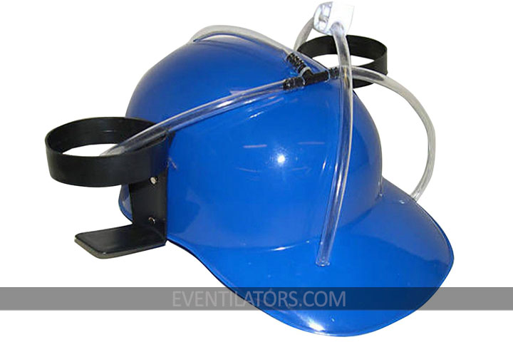 Beer Can Helmet (blue)