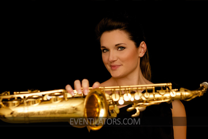 Female Saxophone player