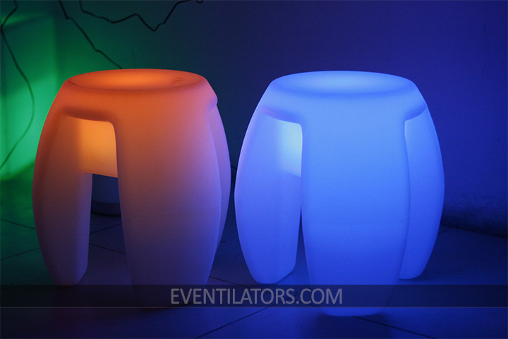 LED Curve Stool